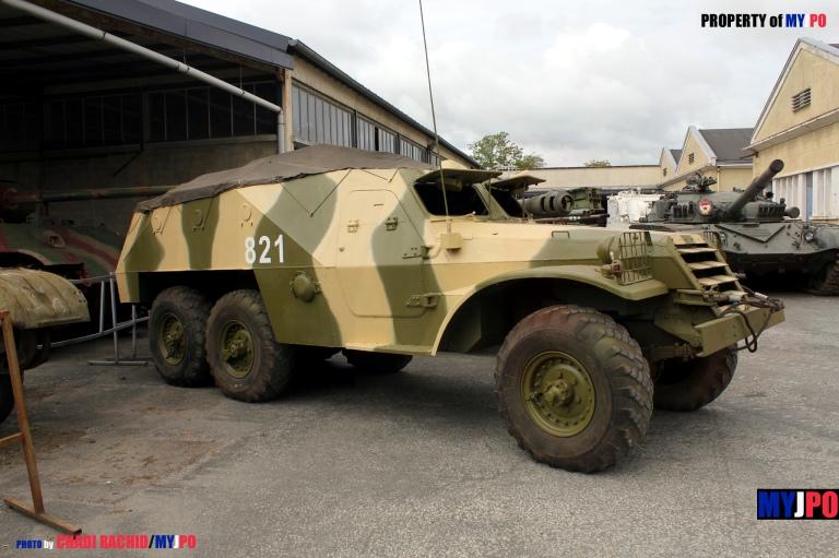 The BTR-152 at Concours International de Maquettes 2015, Musée des Blindés, Saumur, May 23, 2015