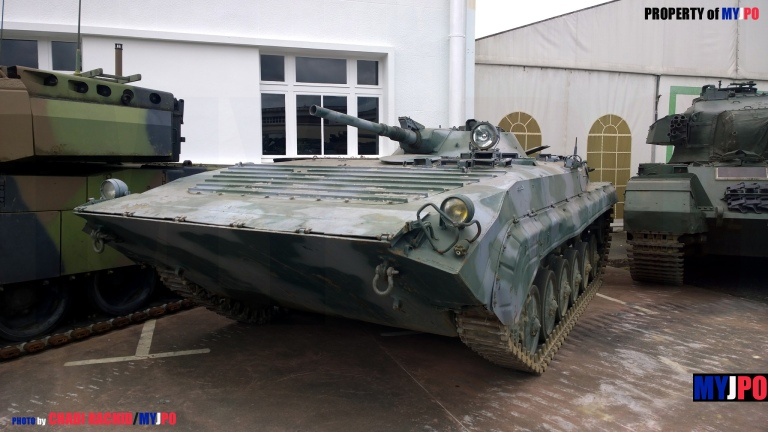 The BMP-1 at Concours International de Maquettes 2015, Musée des Blindés, Saumur, May 23, 2015
